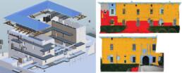 Progetto Socrates e Sechurba. Modello Informativo e analisi del degrado del Castello di Zena