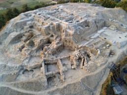 Veduta aerea della cittadella di Misis, Turchia, CNR ISPC