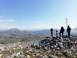 Ricognizione sulla collina di Malo Brdo, Doclea, Montenegro