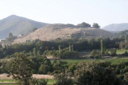 Veduta del sito di Tappeh Qaleh Naneh, Kurdistan, Iran