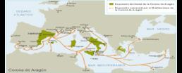 La Corona d'Aragona: espansione territoriale tra XIV e XV sec