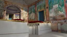 Ricostruzione virtuale della Casa del bracciale d'oro di Pompei