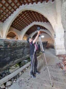 """Ex Stabilimento """"Florio"""" della Tonnara di Favignana. Acquisizione di foto e video 360° per l'elaborazione di prodotti per la fruizione"""