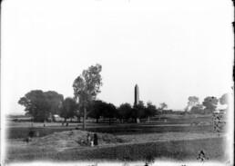 Historic photo of Heliopolis, Archive of the Museo Egizio of Turin