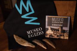 Predynastic lithics from the Schiaparelli collection stored at the Museo dell'Opera del Duomo, Bracciano (Rome). Photo: Sabrina Martin