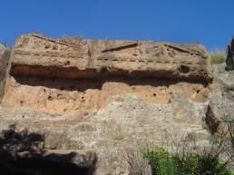 Norchia (VT), Acqualta, Tombe a Tempio