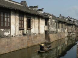 Xichang città d'acqua, Cina. Prima dello sviluppo di un piano turistico
