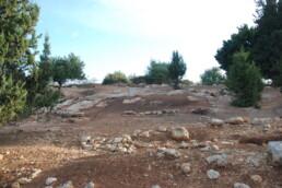 Resti del santuario fenicio di Kharayeb in Libano