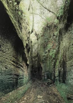 Tagliata viaria nel territorio falisco, a sud-est di Corchiano