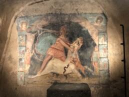 Scena mitraica dipinta, Mitreo di Marino